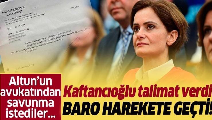 İstanbul Barosu'nu Canan Kaftancıoğlu mu yönetiyor?