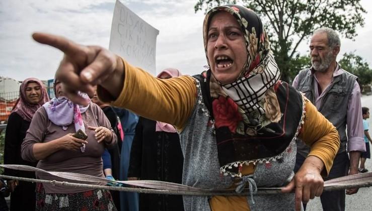 İstanbul'un göbeğinde uyuşturucu isyanı: Kadınlar yol kapattı!