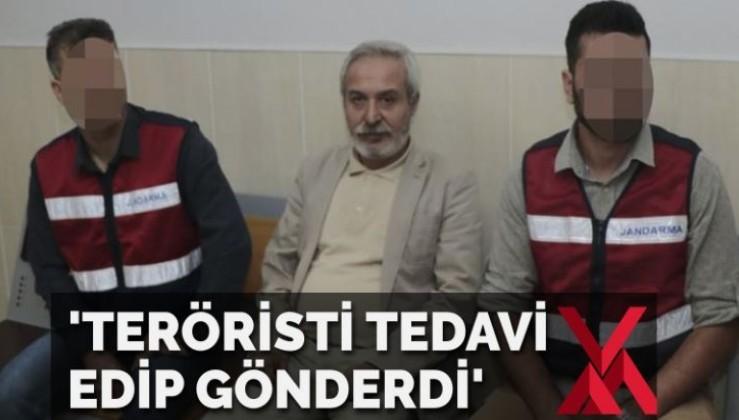 'Mızraklı teröristi tedavi edip gönderdi'