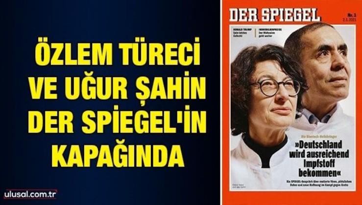 Özlem Türeci ve Uğur Şahin Der Spiegel'in kapağında
