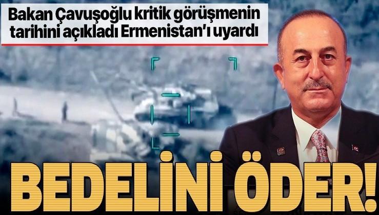 SON DAKİKA: Bakan Çavuşoğlu'ndan Bakü'de önemli açıklamalar: Yarın Rusya'dan bir heyet gelecek