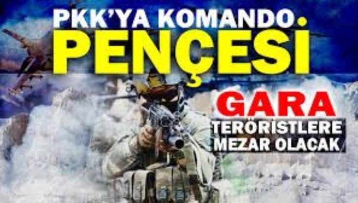 Son dakika: Irak'ın kuzeyindeki Pençe Kartal-2 Harekatı'nda 3 PKK'lı sözde yönetici imha edildi