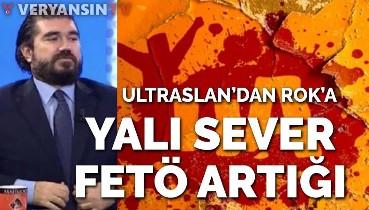 Galatasaray taraftar grubundan ROK'a sert sözler...