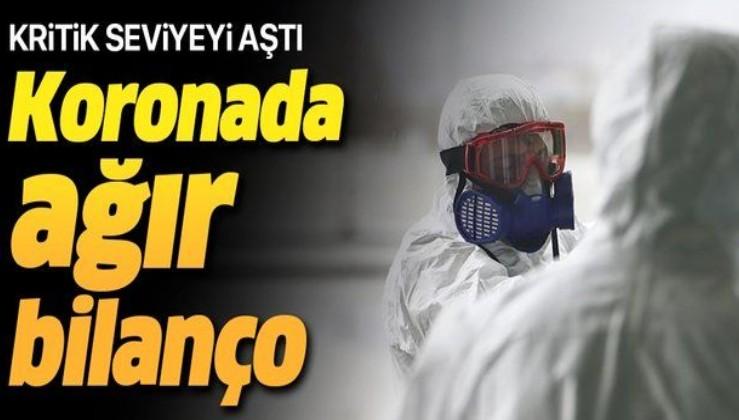 Son dakika: Koronavirüste korkutan bilanço! 200 bini aştı.