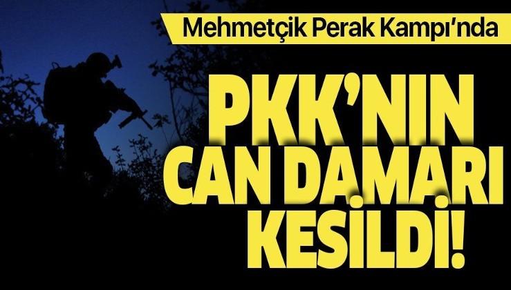 Son dakika: Mehmetçik, PKK'nın can damarı Perak Kampı'nı ele geçirdi