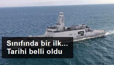 Milli fırkateyn 'İstanbul' 23 Ocak'ta denize indirilecek