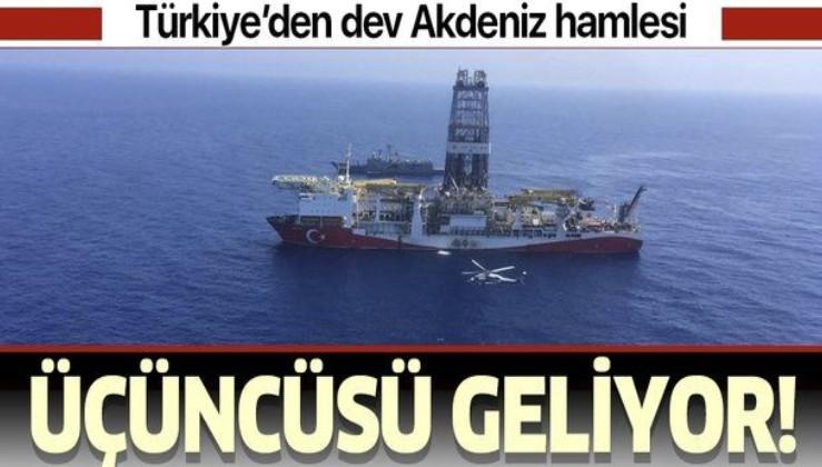 Üçüncü sondaj gemisi birkaç hafta içinde Türkiye'de olacak