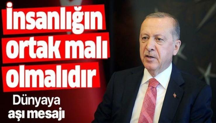Erdoğan'dan 2020 Küresel Aşı Zirvesine videolu mesaj
