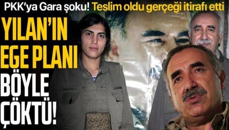 SON DAKİKA: Elebaşı Karayılan'a Gara şoku! PKK'nın teslim olan kritik isminden Ege itirafı: Yola çıkan iki grup geri döndü