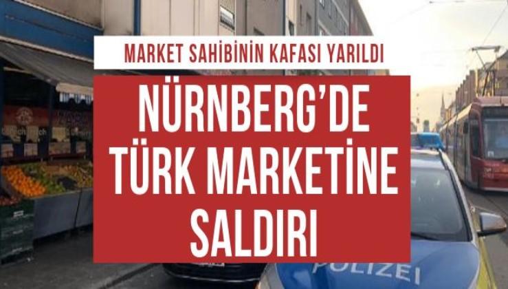 Almanya'da Türk marketine saldırı
