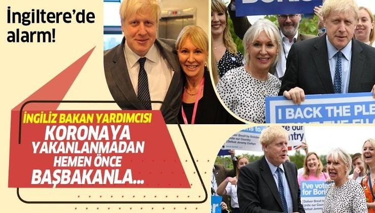 İngiltere'de alarm! Sağlık Bakanı Yardımcısı Koronavirüse yakalanmadan önce Başbakan Johnson'la...