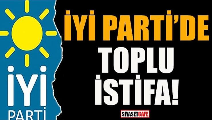 İYİ Parti'de deprem! 18 isim görevlerinden istifa etti!