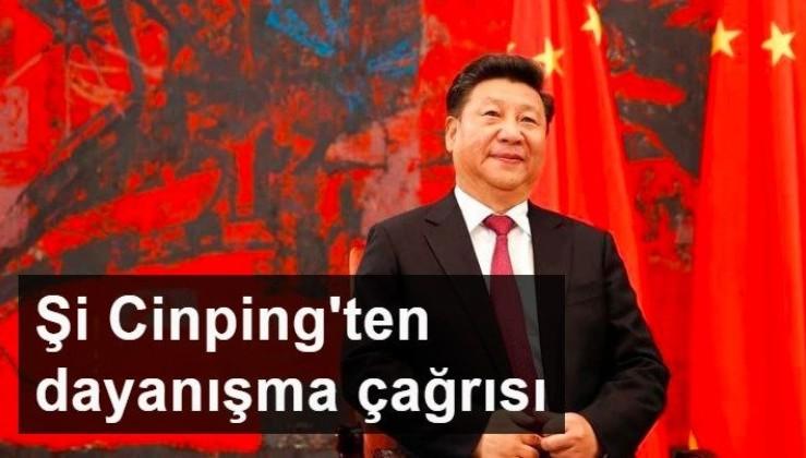 Şi Cinping'ten dayanışma çağrısı
