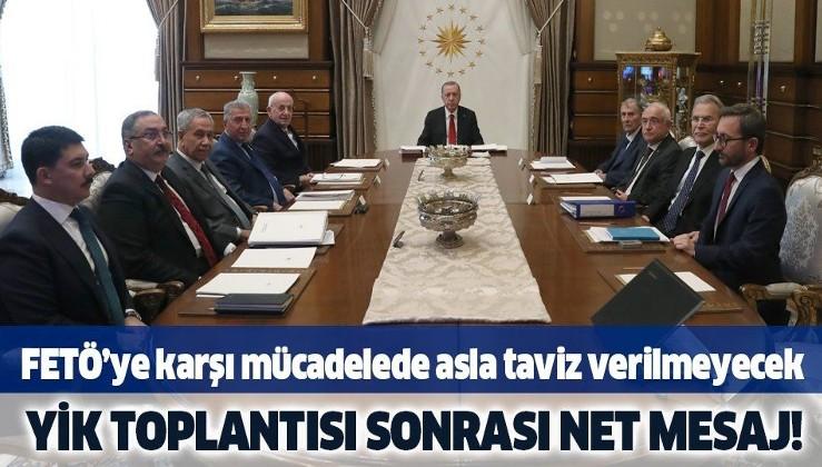 Son Dakika: Bülent Arınç'ın da katıldığı toplantı sonrası açıklama
