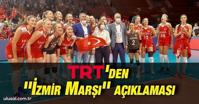 """TRT Genel Müdürü Sobacı'dan """"İzmir Marşı"""" iddialarına tepki"""