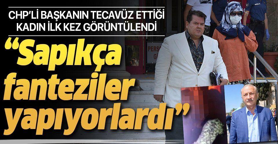 """CHP'li Didim Belediye Başkanı Ahmet Deniz Atabey'in tecavüz ettiği kadın ilk kez görüntülendi! """"Sapıkça fanteziler yapıyorlardı"""""""