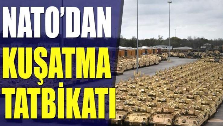 NATO'dan kuşatma tatbikatı