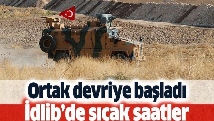 İdlib'de sıcak gelişme: Türkiye-Rusya ortak devriyesi başladı.