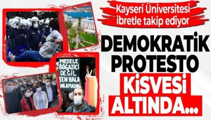 Kayseri Üniversitesi Senatosundan Boğaziçi Üniversitesi'ndeki olaylara tepki: Kirli oyunların yeni bir uzantısı olduğu açıktır