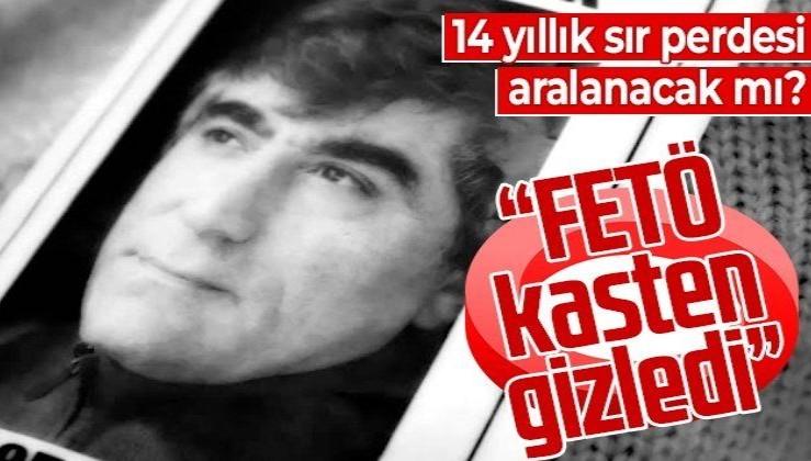 FETÖ tetikçilerince tasarlanan planla öldürülmüştü... Hrant Dink cinayeti üzerinden tam 14 yıl geçti!