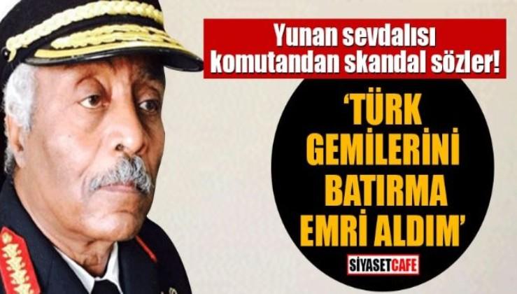 Hafter'in Yunan komutanından Türkiye'ye küstah tehdit.