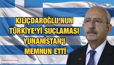 Kılıçdaroğlu'nun Türkiye'yi suçlaması Yunanistan'ı memnun etti