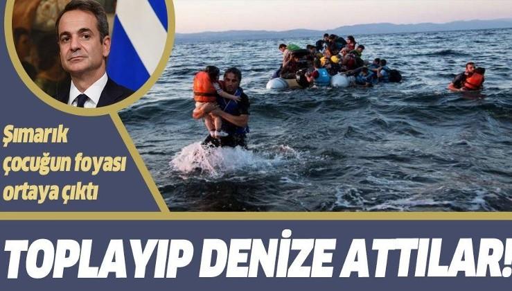Yunanistan'dan göçmenlere işkence gibi muamele! Miçotakis'in foyası ortaya çıktı