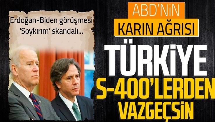 ABD Dışişleri Bakanı Antony Blinken'den Erdoğan ve Biden'ın görüşmesine ilişkin açıklama!