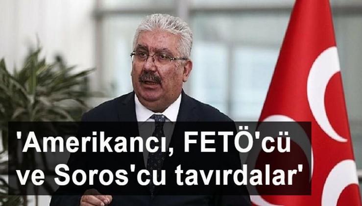 MHP Genel Başkan Yardımcısı Semih Yalçın: 'Millet bunları Amerikancı, FETÖ'cü ve Soros'cu tavırlarıyla hatırlayacak'