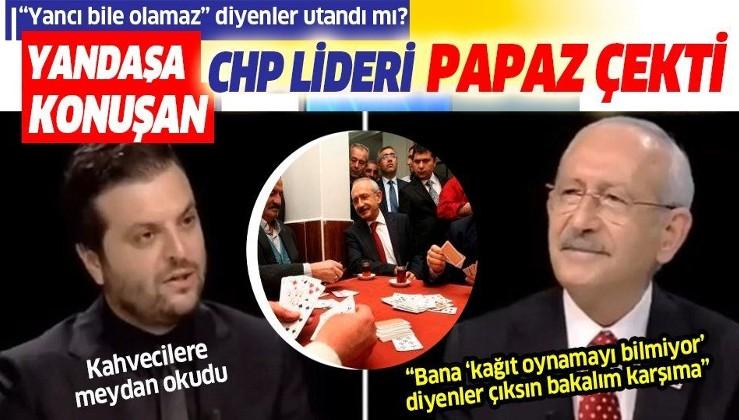 """Kemal Kılıçdaroğlu kahvecilere meydan okudu: Bana """"kağıt oynamayı bilmiyor"""" diyenler çıksın bakalım karşıma"""