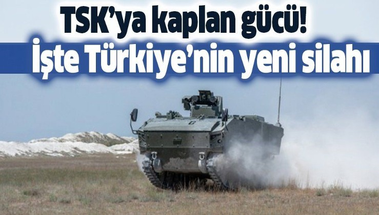 TSK'ya Kaplan gücü! İşte Türkiye'nin yeni silahı!