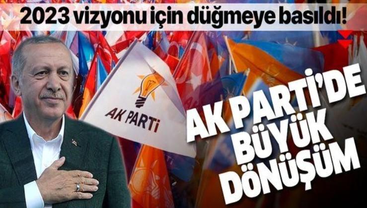 AK Parti'de büyük dönüşüm harekatı