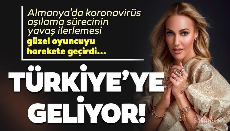 Almanya'nın sağlık sistemine 'kötü' diyen Meryem Uzerli sevgilisi ve kızları ile koronavirüs aşısı için Türkiye'ye dönüyor!