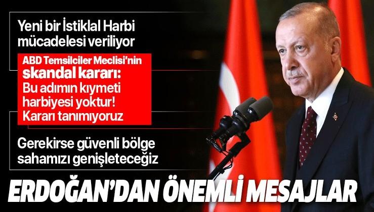 Erdoğan: Cumhuriyetimizi Gazi Mustafa Kemal Atatürk'ün kurduğu Cumhuriyet'e yaraşır...