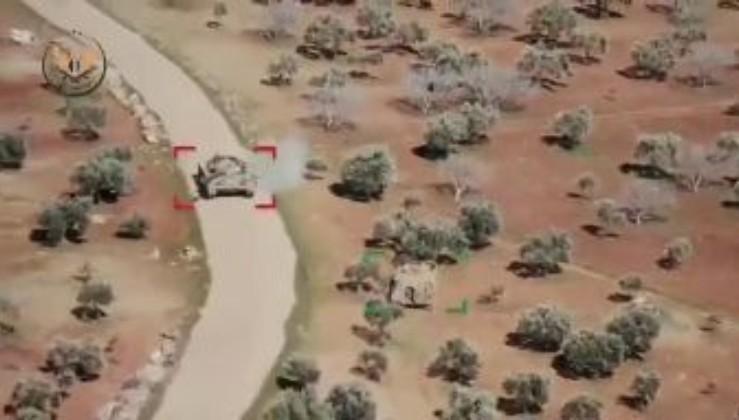 Російський танк T-72 в Сирії так драпанув від турецької БМП ACV-15, що за ним аж пилюка закурилася! (відео)