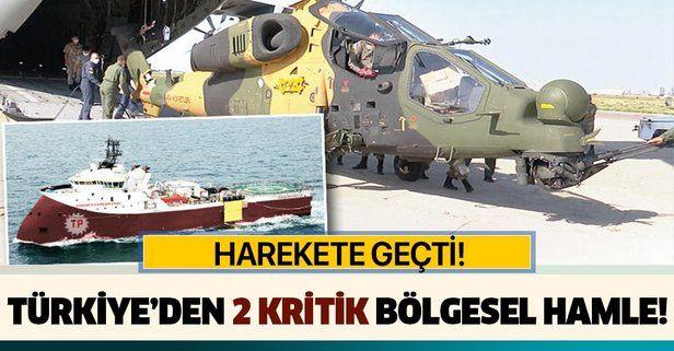 Türkiye Azerbaycan ve Kıbrıs bölgesinde harekete geçti