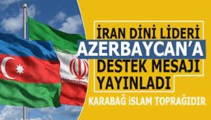 İran'dan Azerbaycan'a destek açıklaması