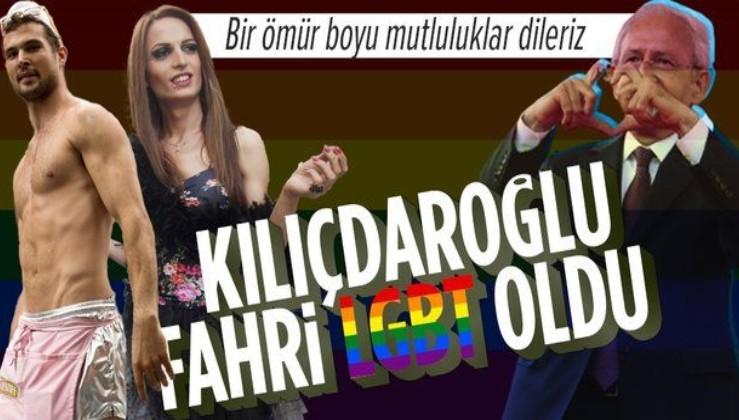 Kemal Kılıçdaroğlu fahri LGBT üyesi ilan edildi