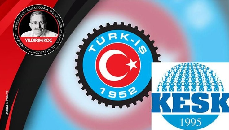 FETÖ örgütleri, KESK ve TÜRK-İŞ