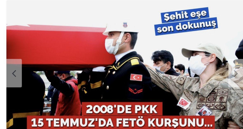 2008'de PKK, 15 Temmuz'da FETÖ kurşunuyla yaralanmıştı… Şehit Güneş'e son veda