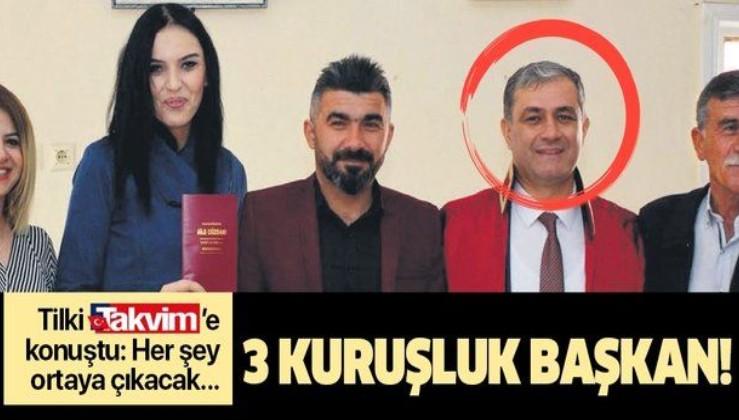 İYİ Partili Elmalı Belediye Başkanı Halil Öztürk'e 3 kuruşluk dava açıyorum!