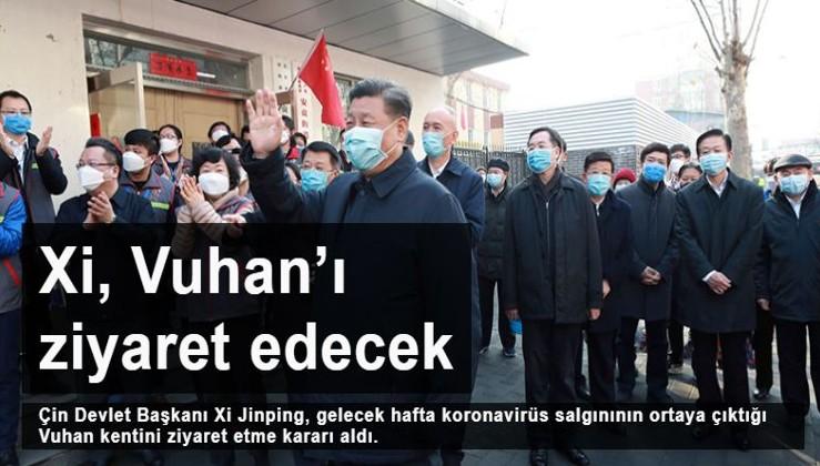 Xi Jinping, koronavirüsün ortaya çıktığı Vuhan'ı ziyaret edecek