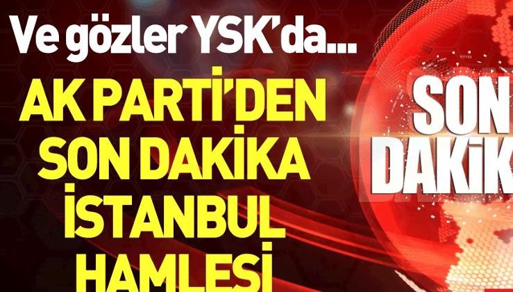 Son dakika: AK Parti olağanüstü itiraz için başvuruyor