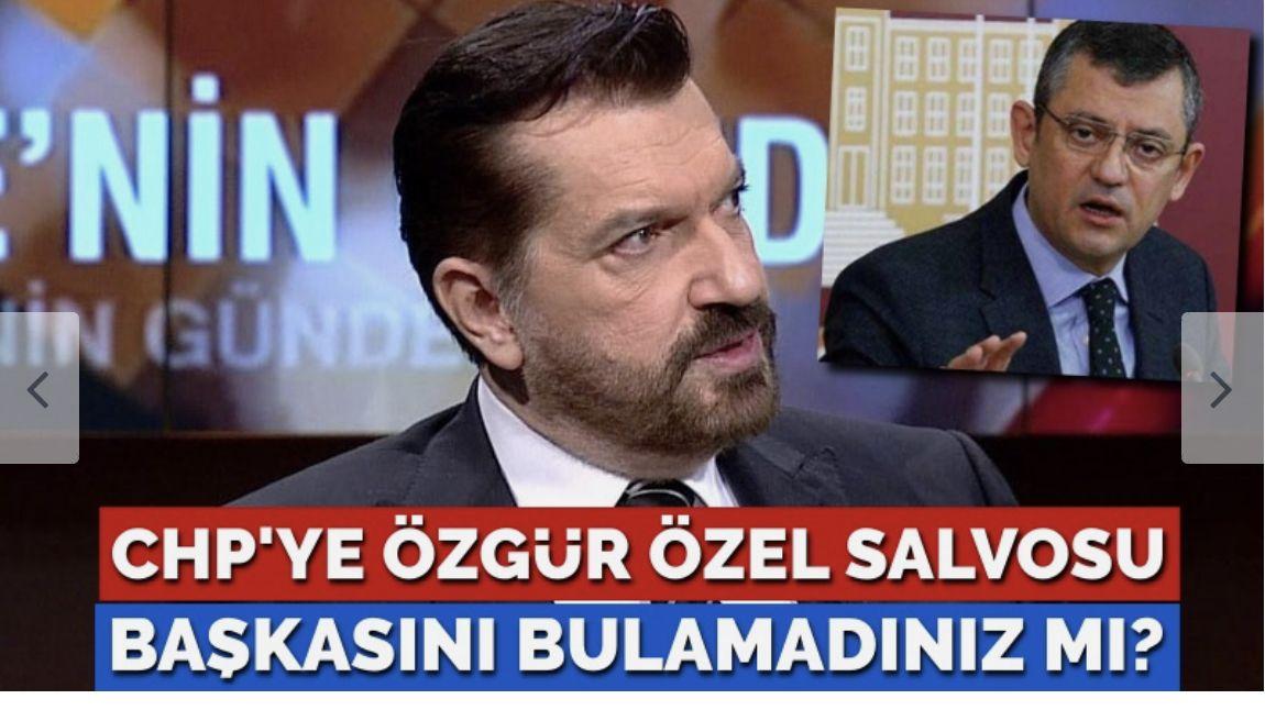 Bayrakçı'dan CHP'ye Özgür Özel salvosu: CHP adına konuşacak başka biri yok mu!