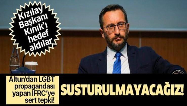 LGBT sapkınlığı üzerinden Kızılay Başkanı Kerem Kınık'ı hedef alan IFRC'ye tepki!
