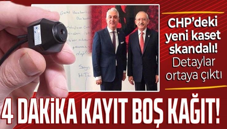 SON DAKİKA: CHP'de yeni kaset skandalı! Teoman Sancar'ın istifa nedeni belli oldu: Boş kağıda imza attırdılar!