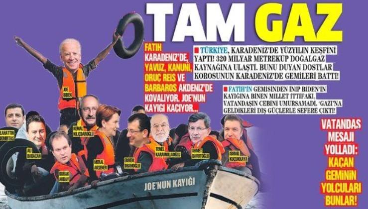 Türkiye, Karadeniz'de yüzyılın doğalgaz keşfini yaptı! Joe Biden ve dostlar korosunun gemileri battı