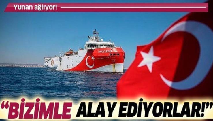 Doğu Akdeniz'de Türkiye'ye karşı müttefiklerinden medet uman Yunan basını isyanda: Bizimle alay ediyorlar!