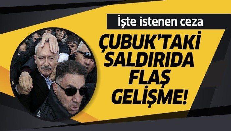 Kılıçdaroğlu'na şehit cenazesinde saldırıda 36 sanık için hapis talebi.