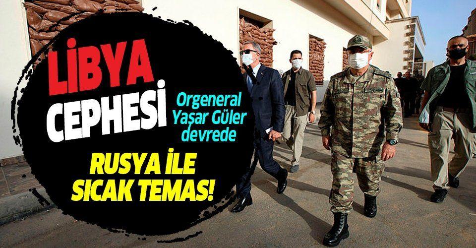 Son dakika: Genelkurmay Başkanı Yaşar Güler, Rus mevkidaşı ile görüştü